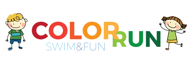 Color swim and run