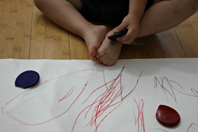 Faze crtanja saranje